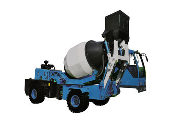 China 4 CBM Self Propelled Feed Mixer Self Loading Concrete Mixer Model CMT2600R supplier