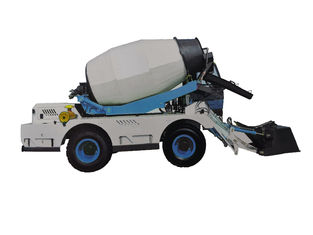 China Mobile Self Loading Concrete Mixer Machine Articulated Steering CMT1200 supplier