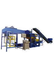 China High Efficiency Hydraulic Concrete Block Making Machine Easy To Operating QT4-25 supplier