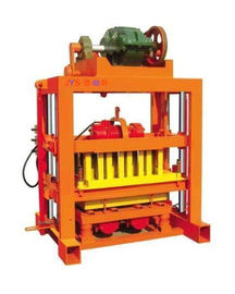 High Efficiency Small Clay Brick Making Machine , Block Making Equipment