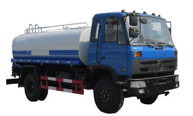 High Effective Water Sprinkler Truck 12 Cub Meters For Constructions Working Site