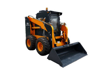 High Reliability Skid Steer Loader , Small Working Site Skid Steer Equipment