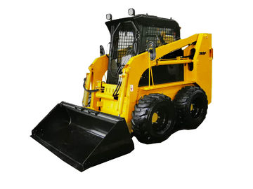 Double Handles Control Skid Steer Loader 1 Year Warranty Or 1500 Working Hours