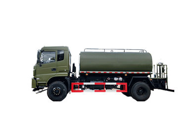 High Pull Force Water Sprinkler Truck 13 Cub , Dongfeng Water Tanker Truck