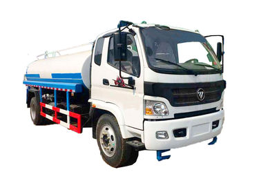 Self Suction Water Sprinkler Truck Carbon Steel Stainless Steel Tank Material