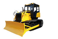 Yellow Steel TS100 Mini Crawler Dozer Compact Crawler Bulldozer Equipment