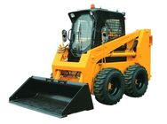 Strong Power Mini Skid Steer Loader Quick Hitch 235F For Small Working Site