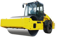 Full Hydraulic Mini Road Roller Equipment Single Drum From 12 Tons - 22 Tons